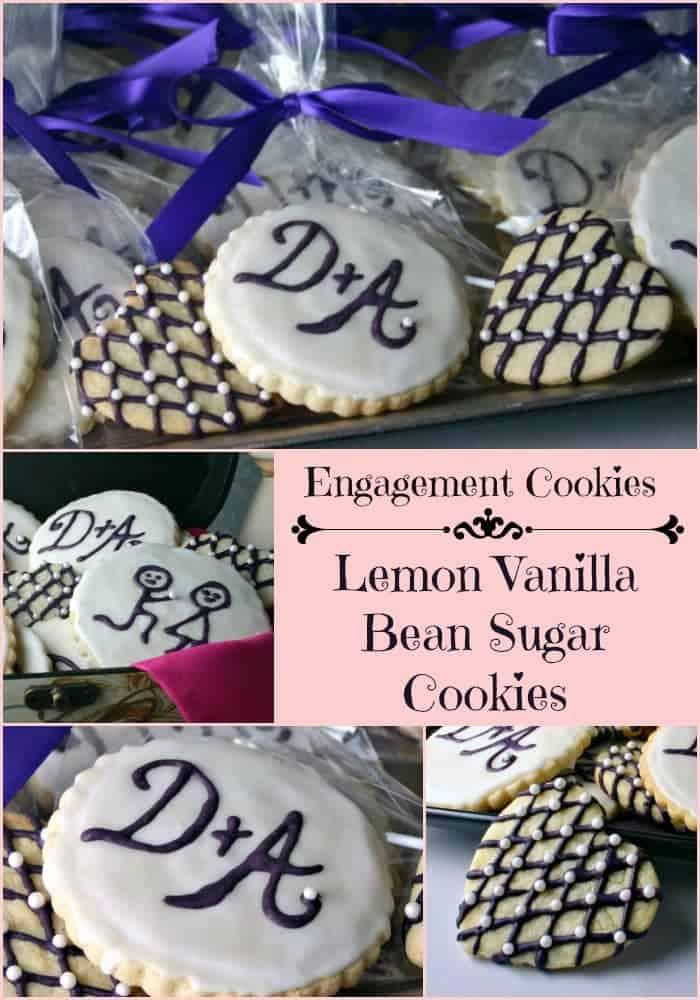 Engagement Sugar Cookies | Life, Love, and Good Food