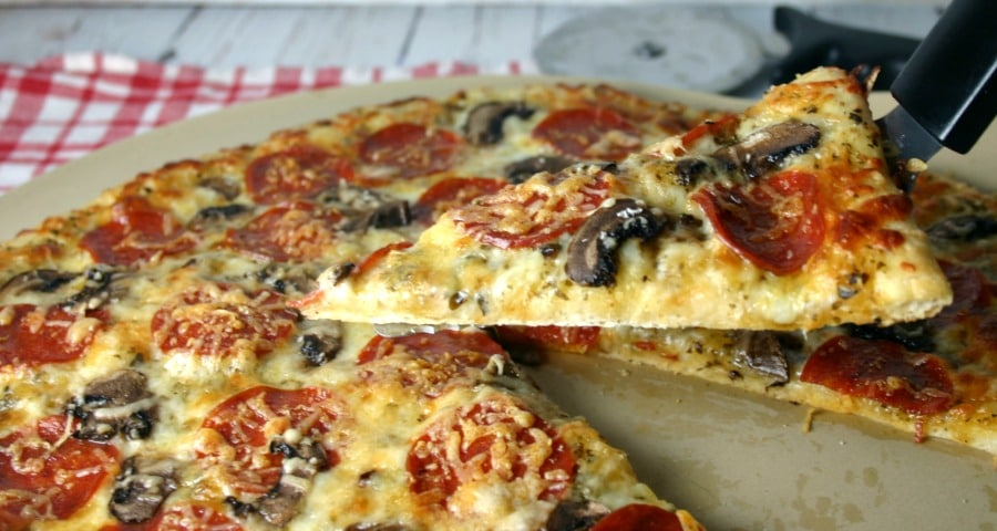 Pepperoni Pesto Pizza   Life, Love, and Good Food