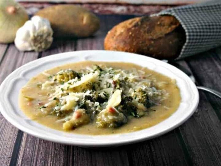 Italian Potato Broccoli Soup