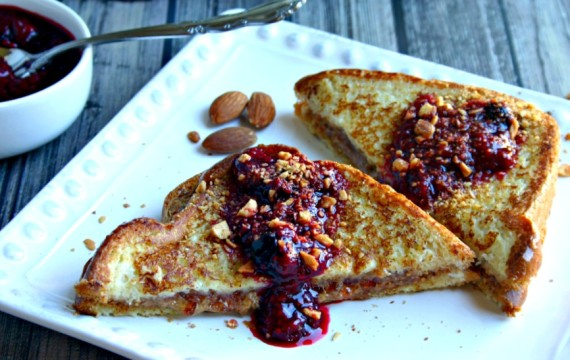 Almond Butter & Jelly French Toast | Life, Love, and Good Food