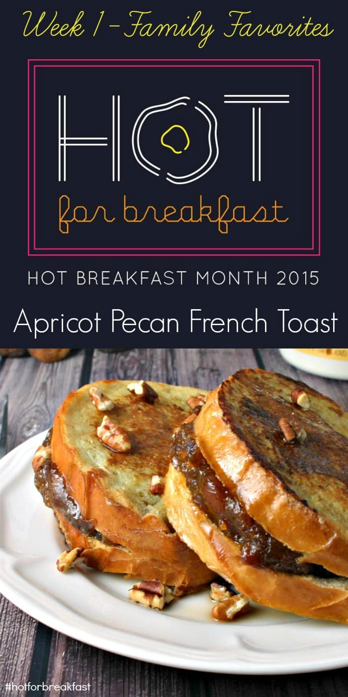 Apricot Pecan French Toast #hotforbreakfast| Life, Love, and Good Food