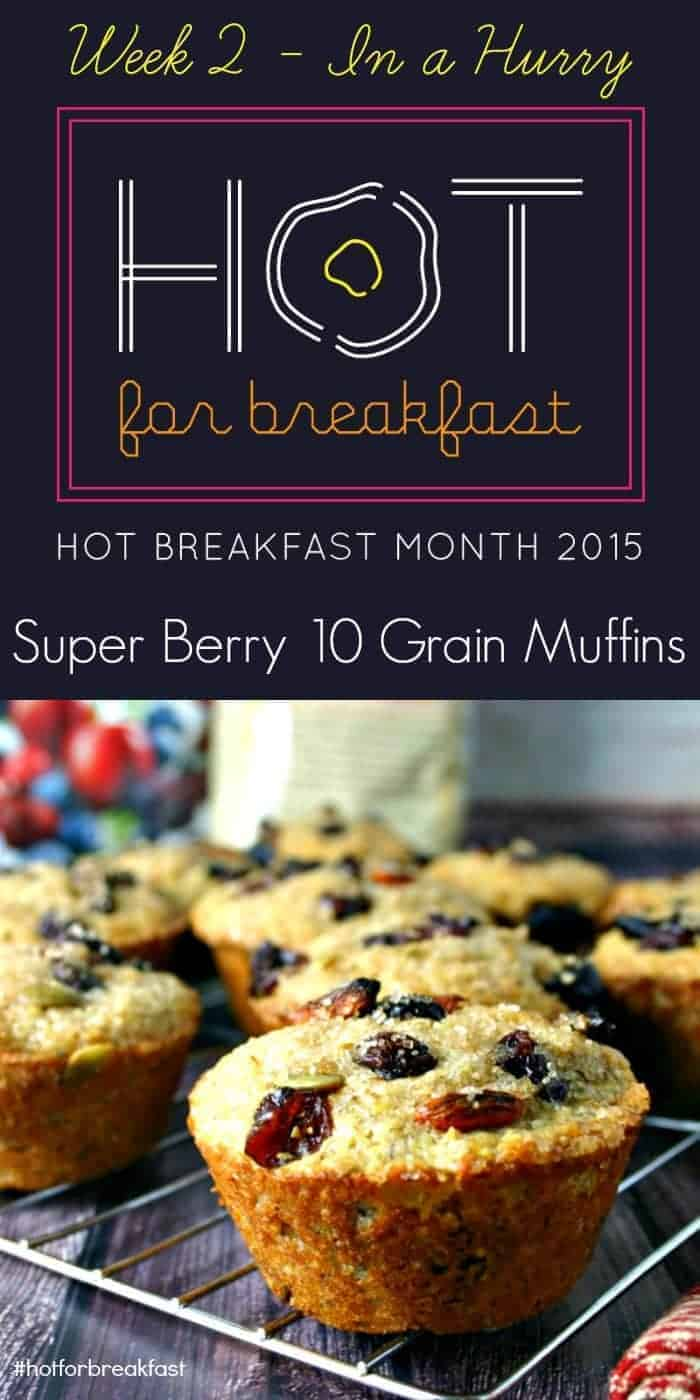 Super Berry 10 Grain Muffins | Life, Love, and Good Food