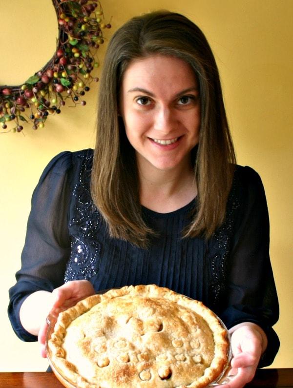 Allison's birthday pie