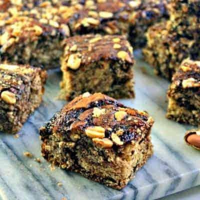 Marbled Peanutty Brownies