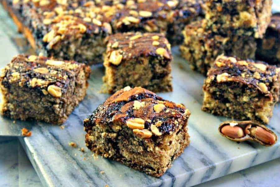 Marbled Peanutty Brownies Life, Love, and Good Food