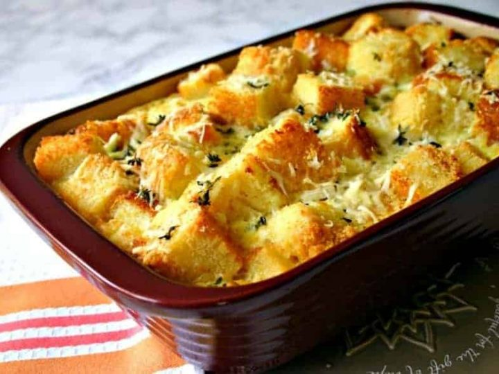 Parmesan Cornbread Pudding | Life, Love, and Good Food