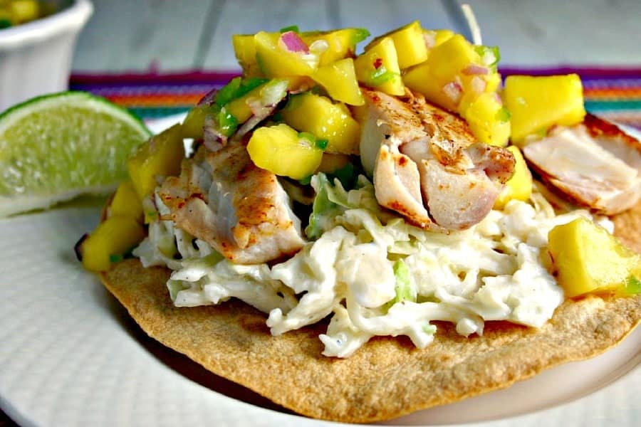 Mahi Mango Tostadas | Life, Love, and Good Food