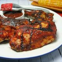 BBQ Chicken with sauce