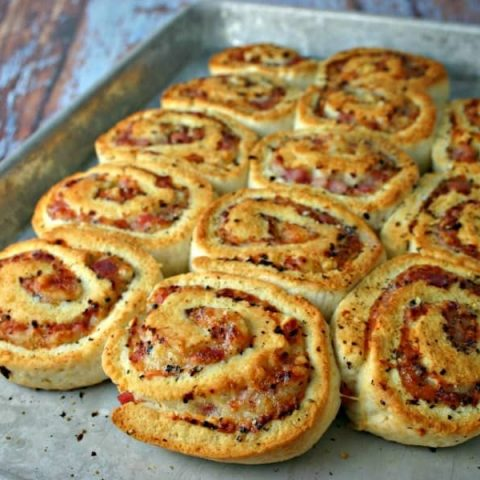 Ham and Swiss Biscuit Swirls | Life, Love, and Good Food