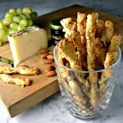 Skinny Parmesan Twists