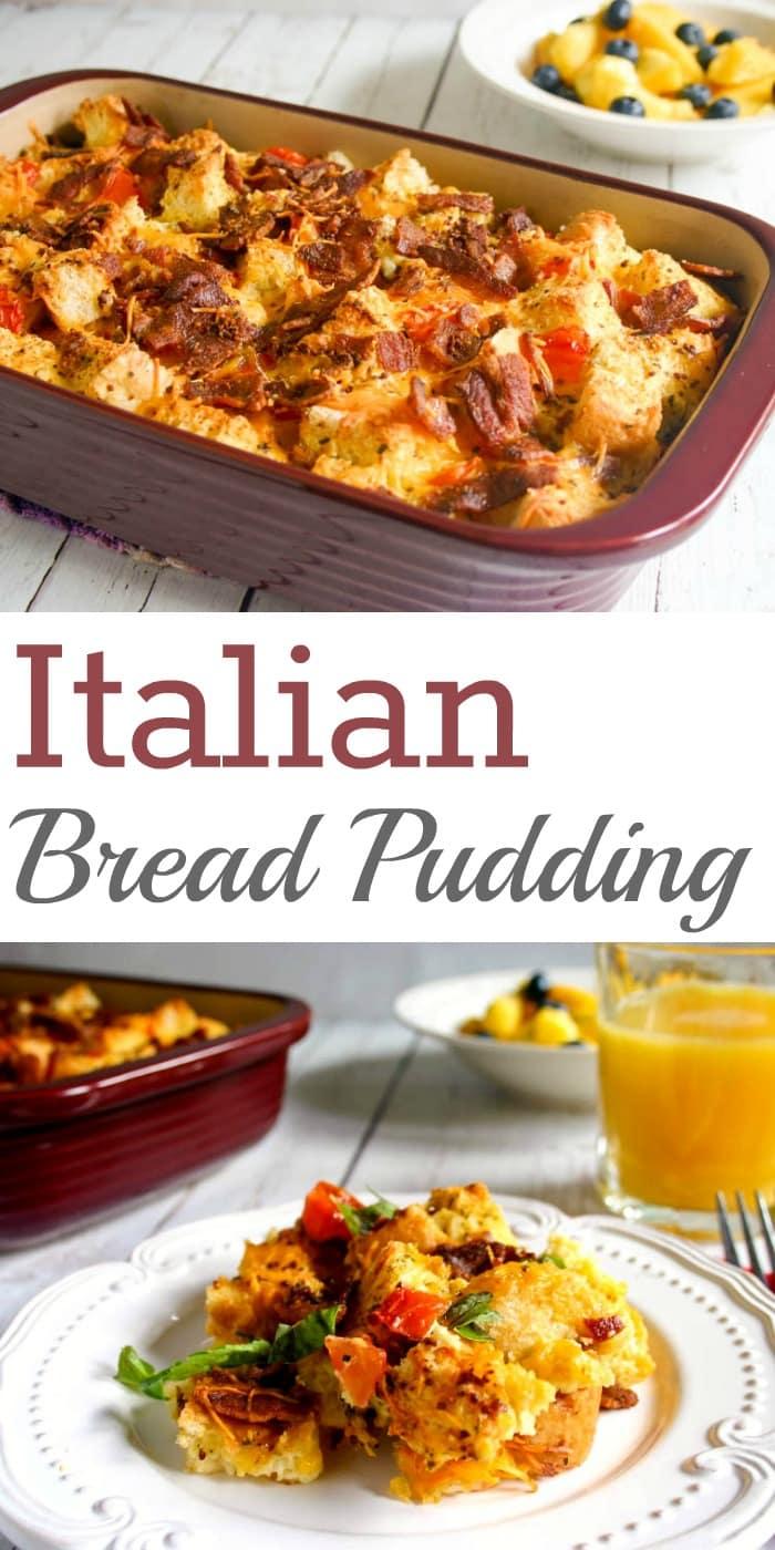Italian Bread Pudding   Life, Love, and Good Food