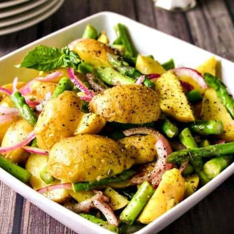 Lemon Basil Potato Salad | Life, Love, and Good Food