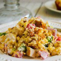 Southwest Chicken Cornbread Salad | Life, Love, and Good Food