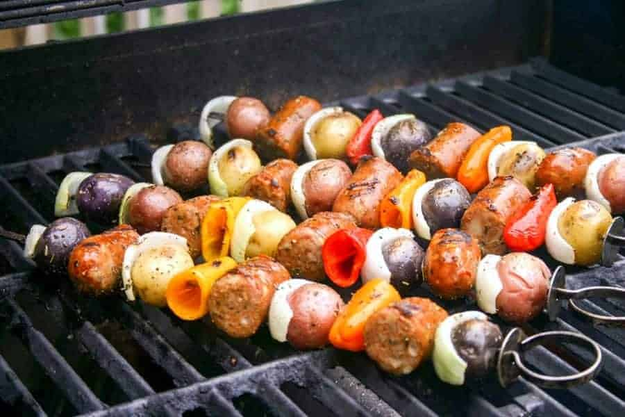 Italian Skewers | Life, Love, and Good Food