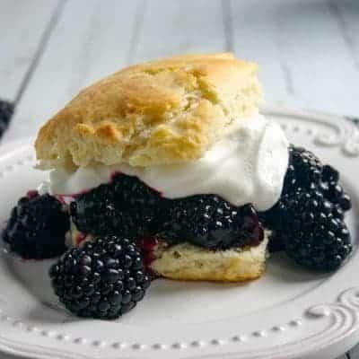 Blackberry-Blueberry Shortcakes
