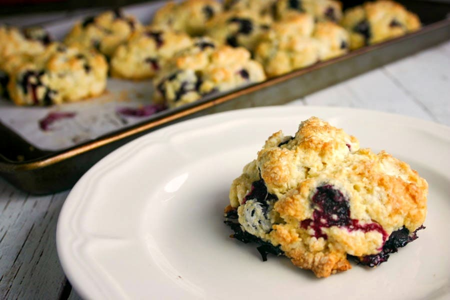 Blueberry Scones | Life, Love, and Good Food