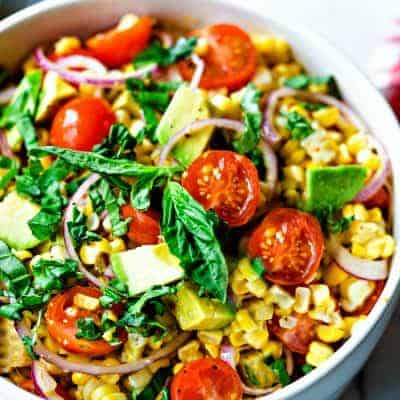 Corn and Avocado Salad – Farm-to-Table Freshness!
