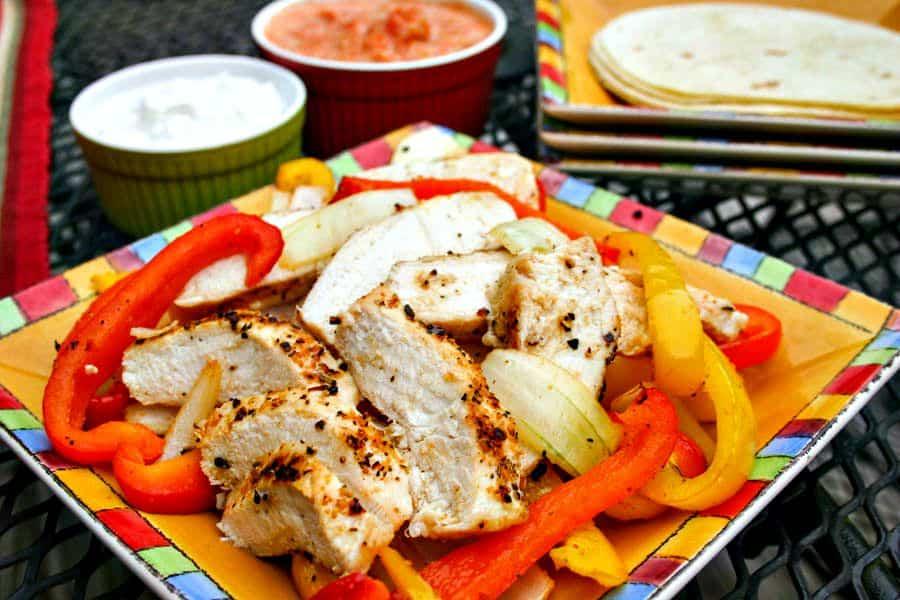 Kickin' Chicken Fajitas   Life, Love, and Good Food