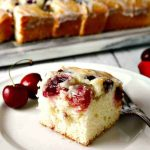 Buttermilk Glazed Cherry Cake | Life, Love, and Good Food