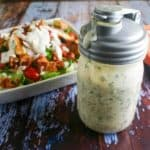 7-Layer Salad with Parmesan Ranch Dressing | Life, Love, and Good Food