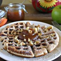 Apple Fritter Waffles | Life, Love, and Good Food