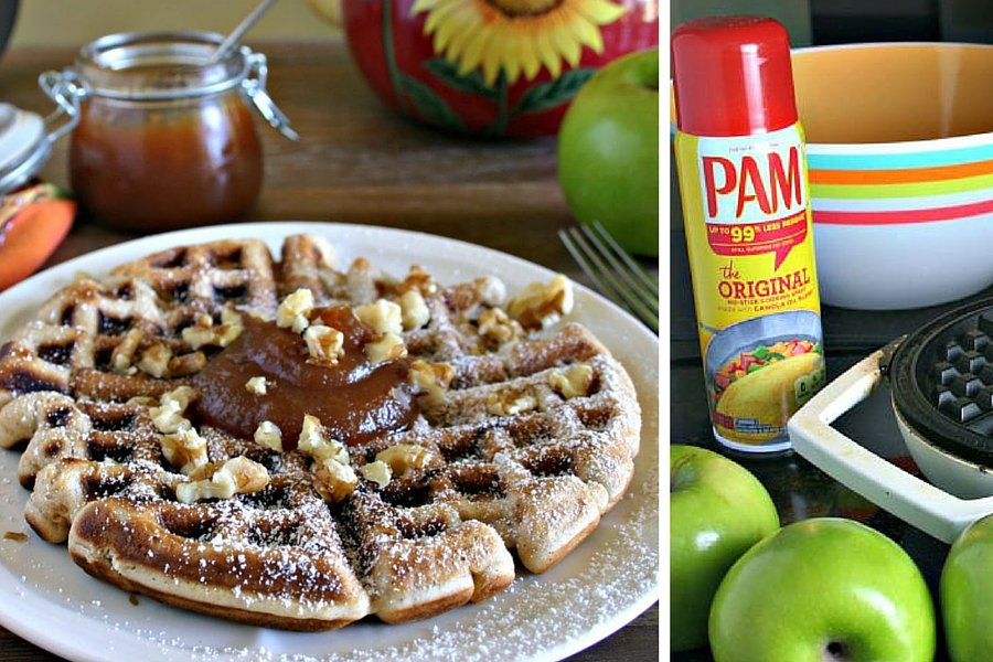 Apple Fritter Waffle | Life, Love, and Good Food