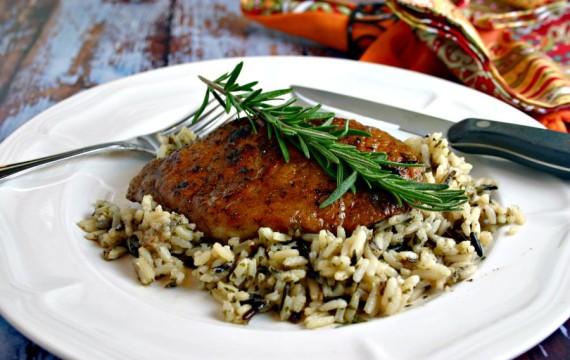 Balsamic Pork Chop | Life, Love, and Good Food #easydinnerrecipe