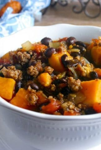 Black Bean-Sweet Potato Italian Chili