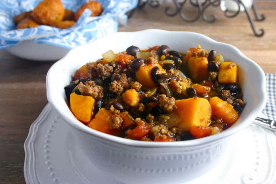 Black Bean-Sweet Potato Italian Chili - Life, Love, and Good Food