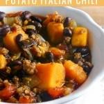 Black Bean-Sweet Potato Italian Chili