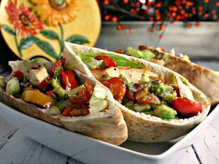 Chicken Fajita Pita | Life, Love, and Good Food