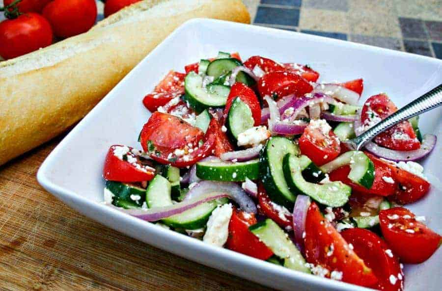 Cucumber-Tomato Salad | Life, Love, and Good Food