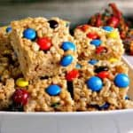 Peanutty Rice Krispie Treats- | Life, Love, and Good Food