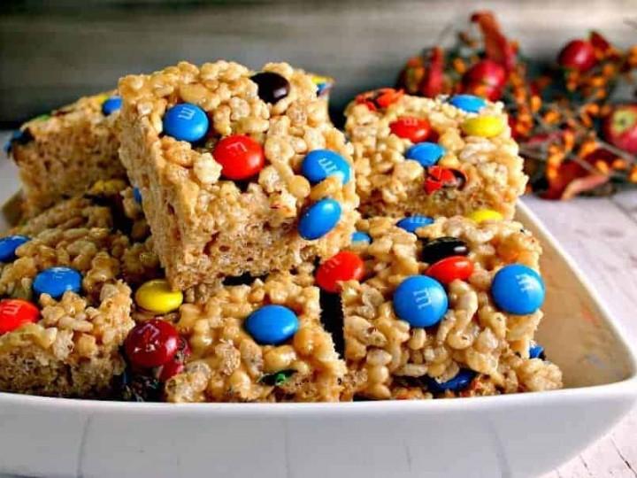Peanutty Rice Krispie Treats- | Life, Love, and Good Food