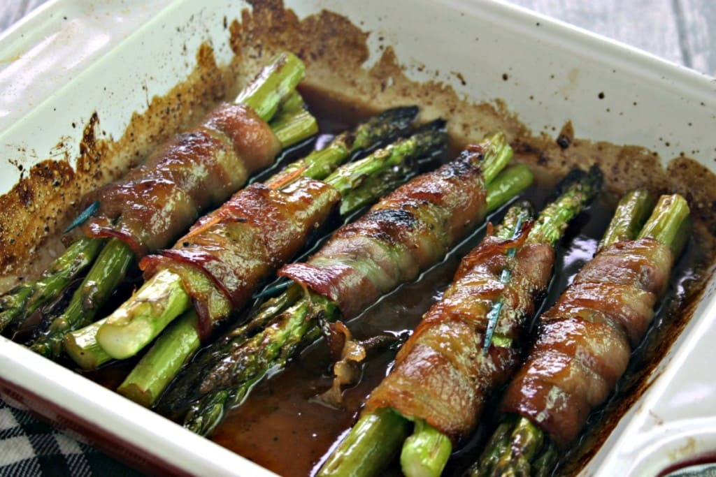 Bacon Wrapped Asparagus Bundles Life Love And Good Food