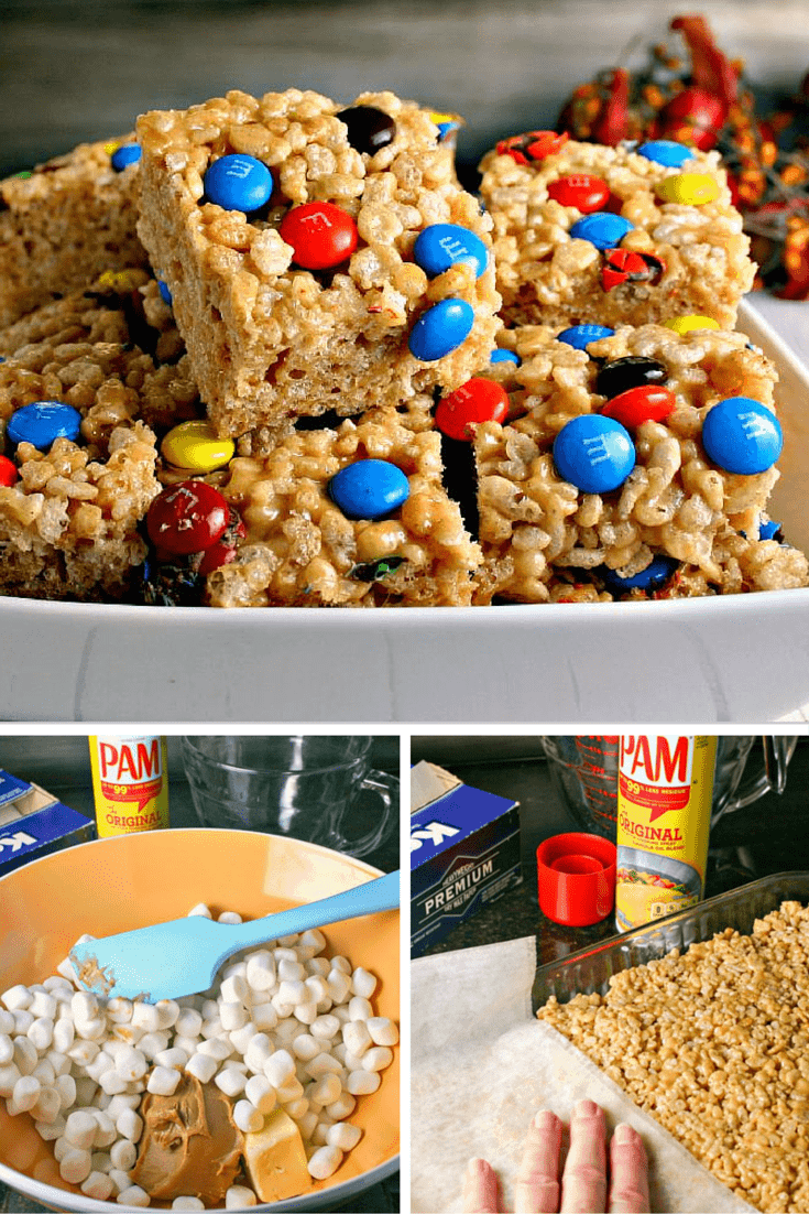 Peanutty Rice Krispies Treats - a variation on the timeless childhood favorite.
