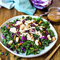 Chopped Chicken Kale Salad