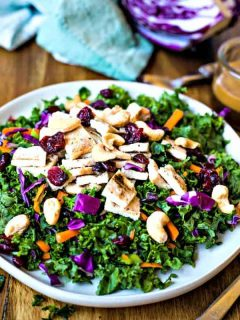 Chopped Chicken Kale Salad
