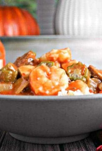 Chicken, Sausage, and Shrimp Gumbo | Life, Love, and Good Food #recipe