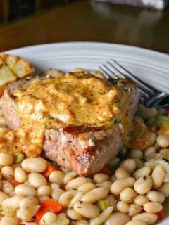 Tuna with White Beans and Sundried Tomatoes | Life, Love, and Good Food