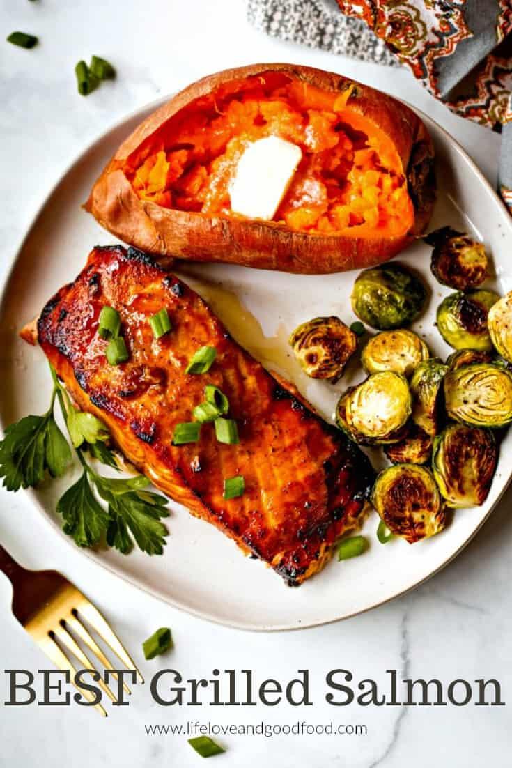 Best Grilled Salmon in foil recipe