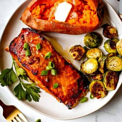 Best Grilled Salmon – Slightly Sweet & Smoky Flavor