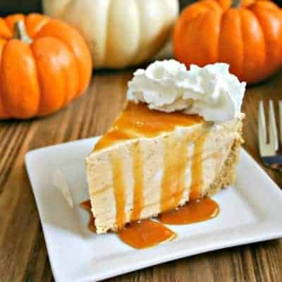 Frozen Pumpkin Pie Cheesecake