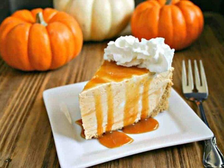 Frozen Pumpkin Pie Cheesecake | Life, Love, and Good Food
