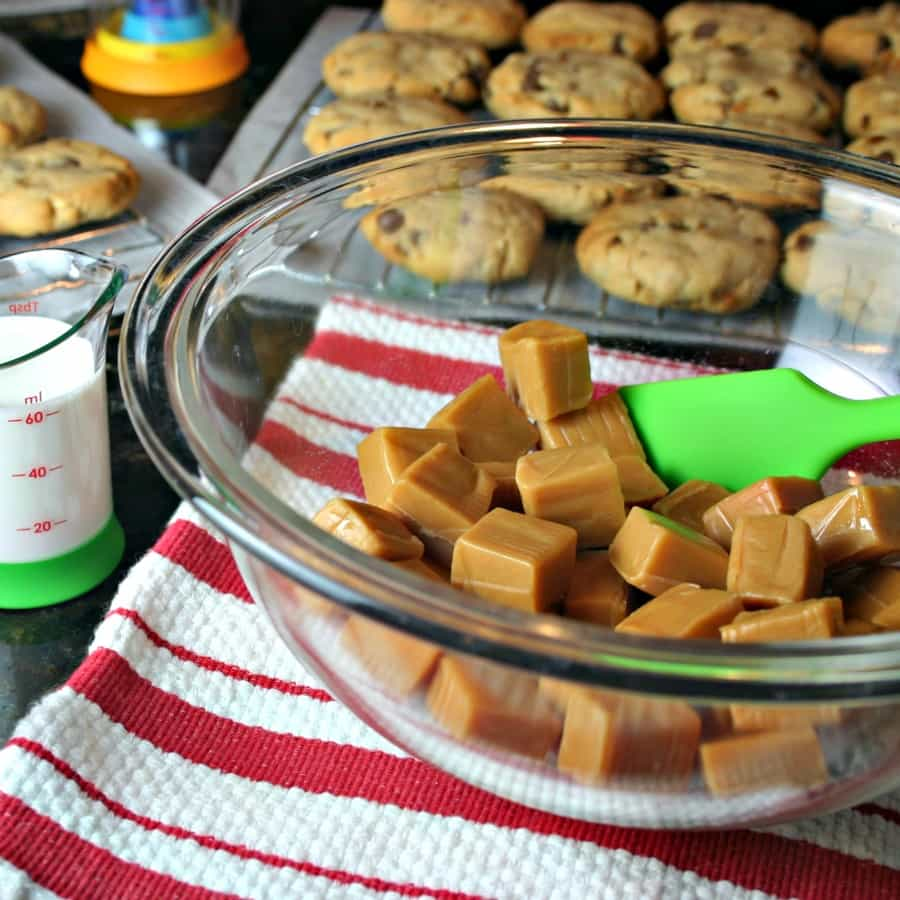Peanut Butter Toffee Turtle Cookies | Life, Love, and Good Food