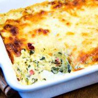 Creamy Spinach & Spaghetti Squash Bake   Life, Love, and Good Food