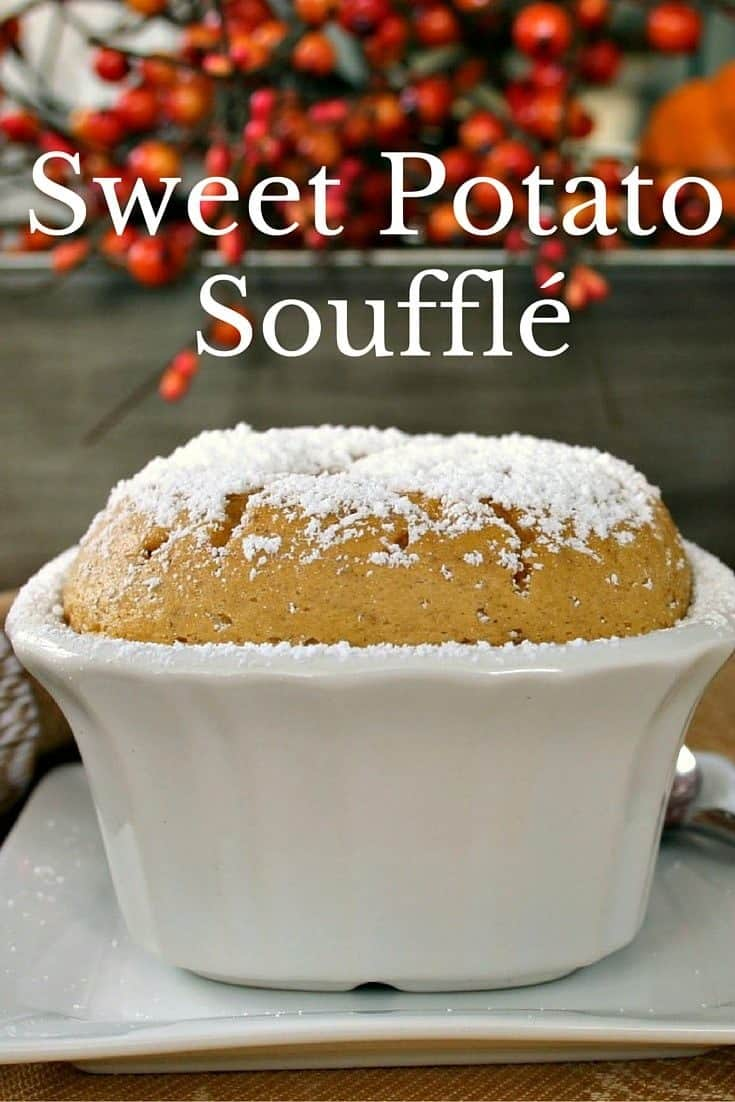 Sweet Potato Soufflé - a great addition to any Thanksgiving table.