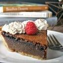 Chocolate Chess Pie | Life, Love, and Good Food