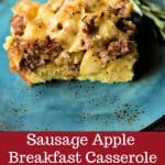 Sausage Apple Breakast Casserole  Life, Love, and Good Food