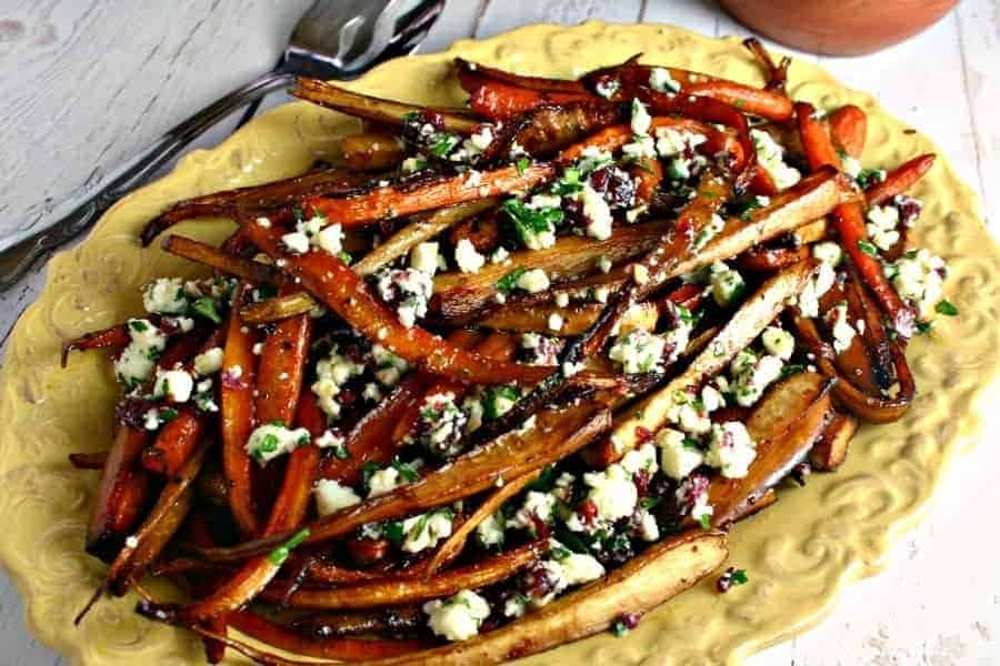 Balsamic Roasted Parsnips & Carrots | Life, Love, and Good Food